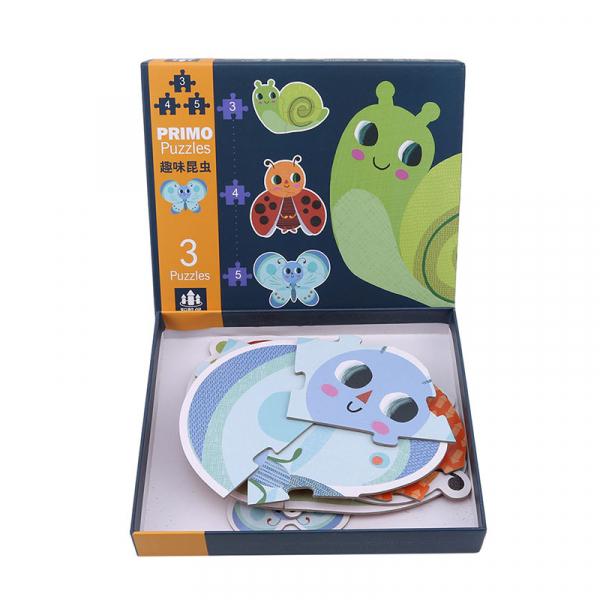 Set Puzzle Mare copii - Puzzle imagini animale piese mari 3