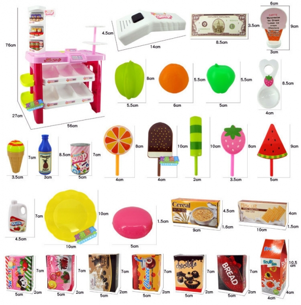 Set Supermarket Dessert Shop 1