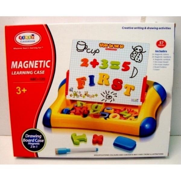 Set Tabla Magnetica si Desen cu Litere si Cifre Magnetice [0]