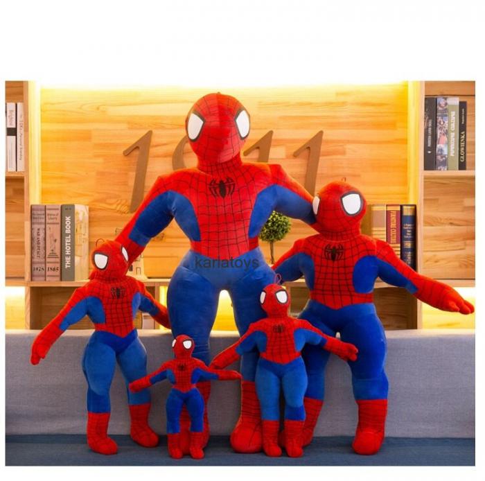 Spiderman din Plus Mare - Mascota de Plus Omul Paianjen [0]