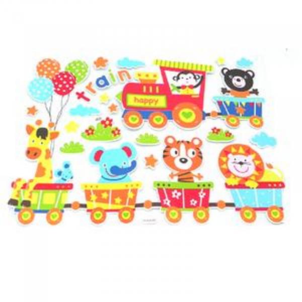 Stickere perete copii - Stickere perete decorative cu desene si metru 0