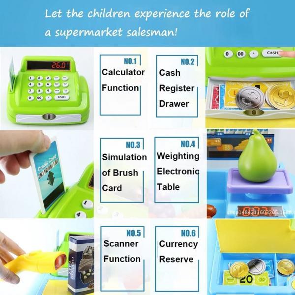 Supermarket copii cu accesorii - Set Magazin de Jucarie cu Accesorii 3