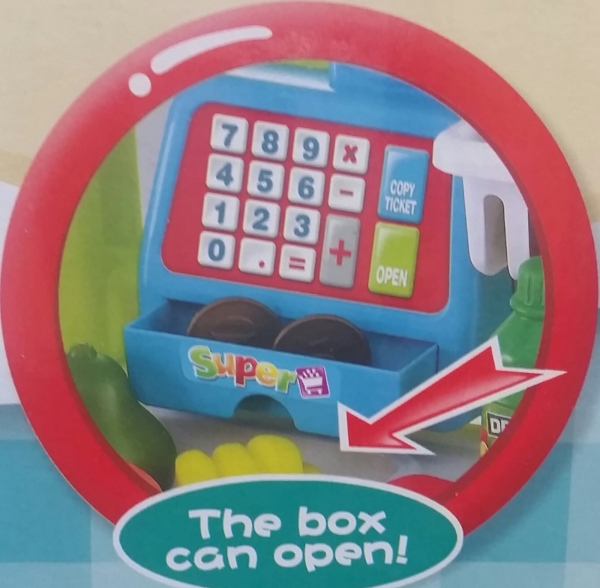 Supermarket pentru copii Little Shopping 3