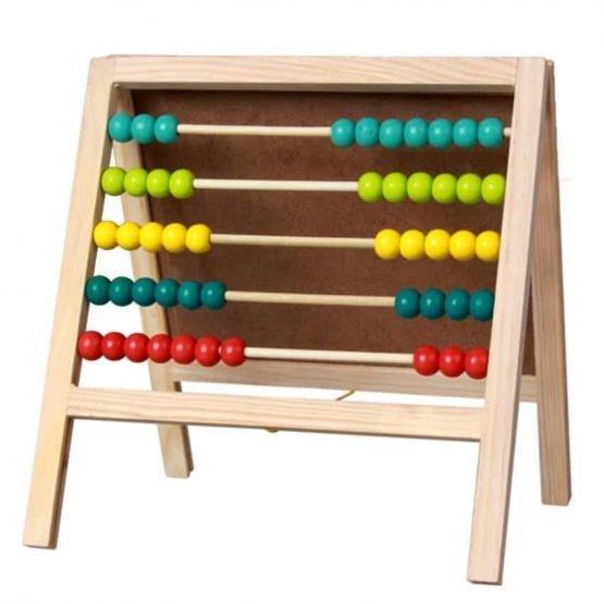 Tabla din lemn cu abac 1