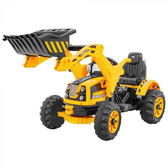 Excavator copii Electric Tractor cu Cupa 12V [0]
