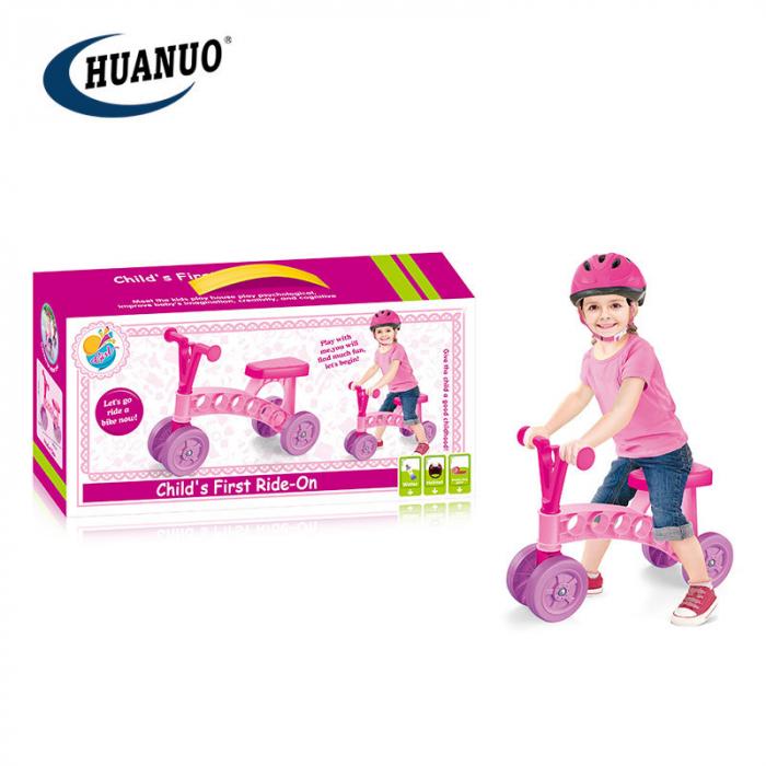 Tricicleta fara pedale 3 roti 0