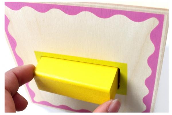 Turn Cuburi din Lemn - Set Cuburi din Lemn Montessori 6
