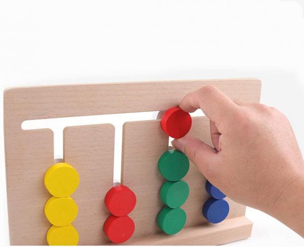 Joc Lemn Asociere Color Match 5