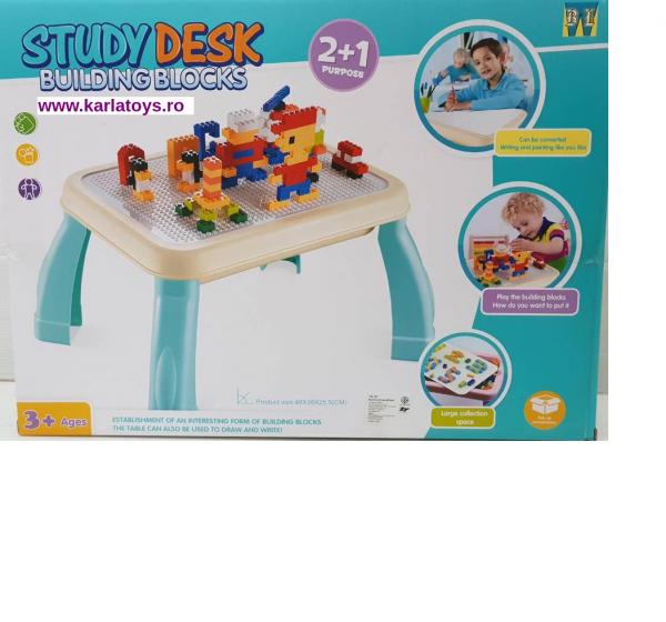 Masuta Multifunctionala tip Lego 2 in 1 0