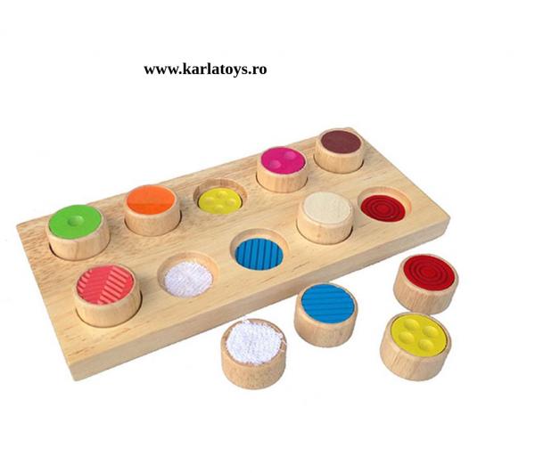 Joc din lemn memorie pentru copii Memory 0