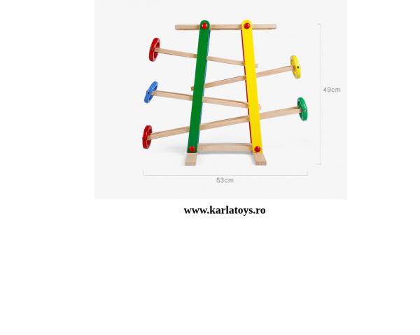 Joc Imdemanare din lemn Cursa cu bile Onshine 2