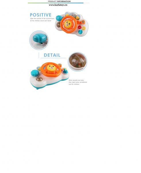 Jucarie interactiva Bebe Volan Chimstar [2]