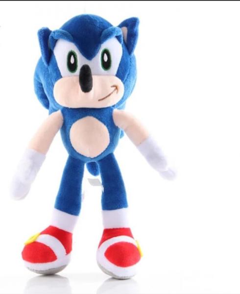 Jucarie de Plus Super Sonic - Jucarie de plus Sonic Hedgehog 1