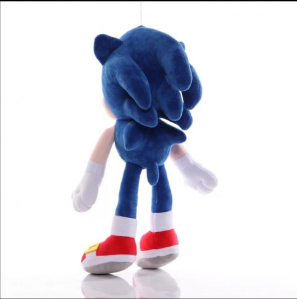 Jucarie de Plus Super Sonic - Jucarie de plus Sonic Hedgehog 3