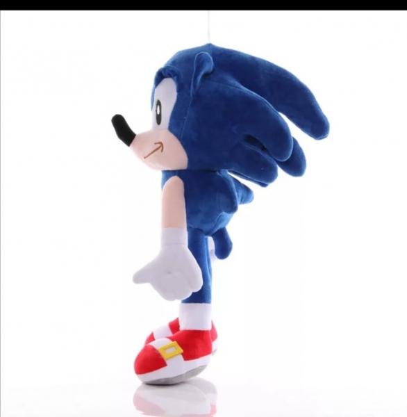 Jucarie de Plus Super Sonic - Jucarie de plus Sonic Hedgehog 2