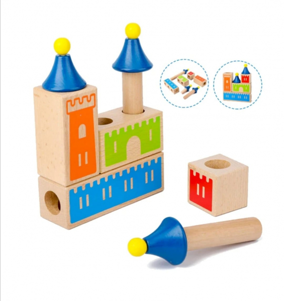 Joc Logica Constructie Castel 3D 6