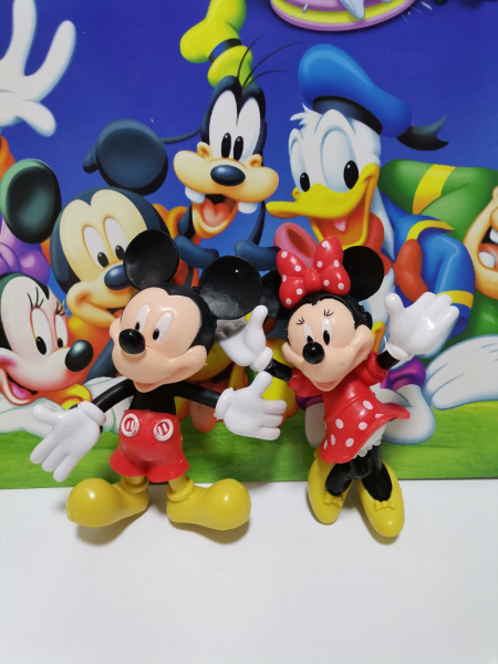 Set 5 figurine personaje Club House Mickey Mouse 6