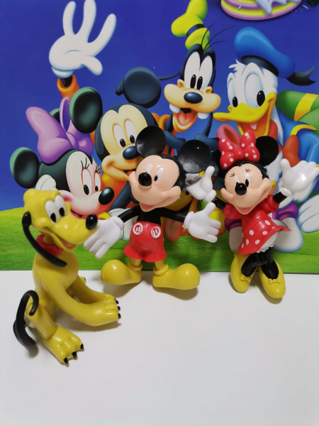 Set 5 figurine personaje Club House Mickey Mouse 7