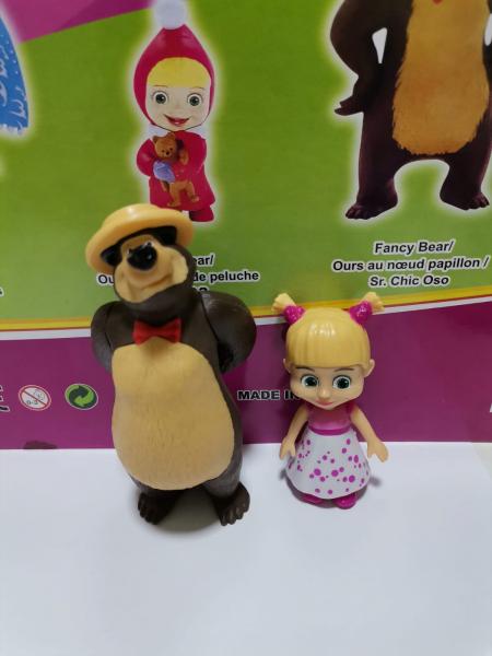 Set 6 figurine tip Masha si Ursul 4