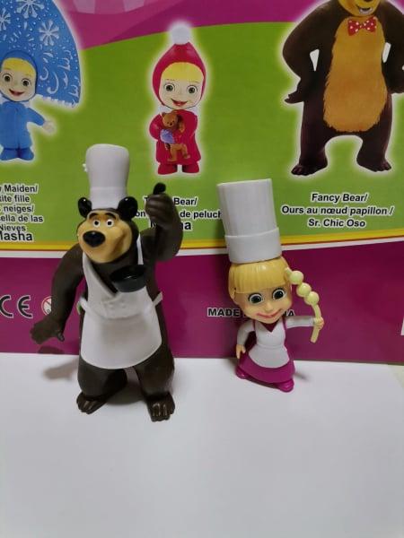 Set 6 figurine tip Masha si Ursul 3