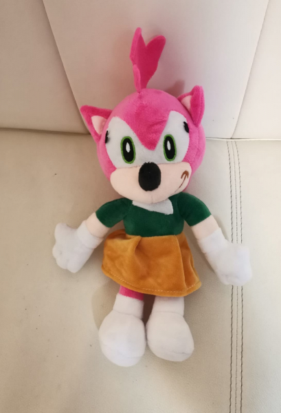 Set 6 buc Jucarii de plus Super Sonic - Set Plusuri Sonic Hedgehog 4