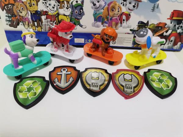 Set 4 figurine Patrula Catelusilor - Personaje din Patrula Catelusilor 1