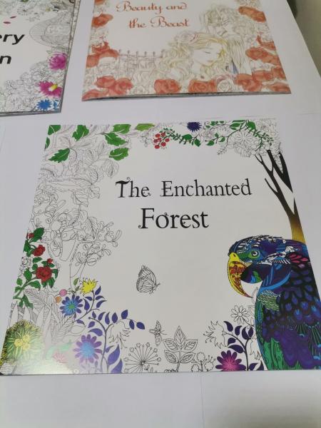 Set Carte si creione colorate - Joc creativ de imaginatie Culori 1