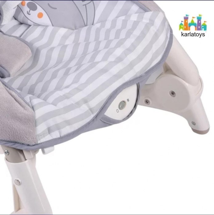 Scaun Balansoar Bebe cu Vibratii Carusel muzical si Lumini [4]