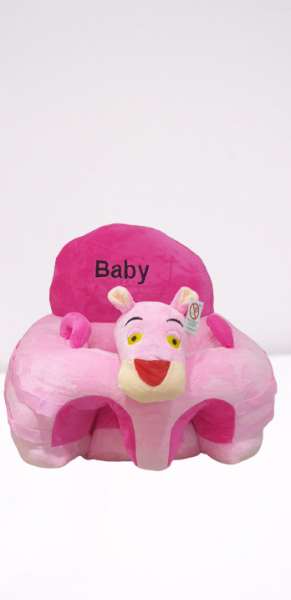 Fotoliu din Plus pentru Bebelusi cu arcada cu jucarii Pantera Roz 1