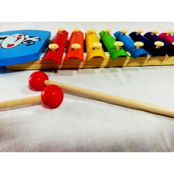 Xilofon din lemn cu 8 note 1