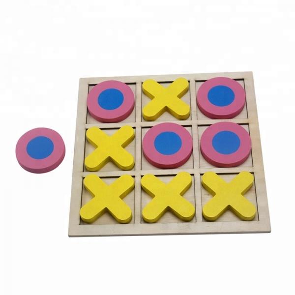 Joc din lemn x si o pentru copii 4