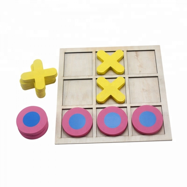 Joc din lemn x si o pentru copii 0