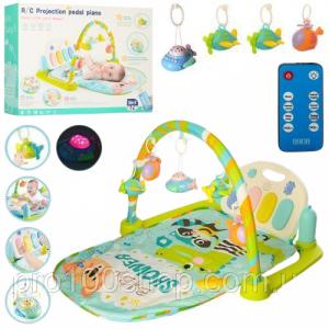 Saltea activitatii Baby Piano Gym cu telecomanda -Saltea bebe cu telecomanda7