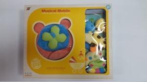 Carusel pentru copii musical mobile - jucarii din plus8