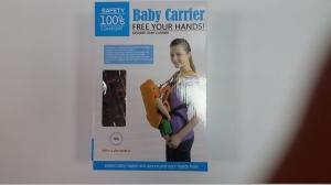Marsupiu pentru bebelusii baby carrier portocaliu1