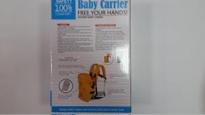 Marsupiu pentru bebelusii baby carrier portocaliu0