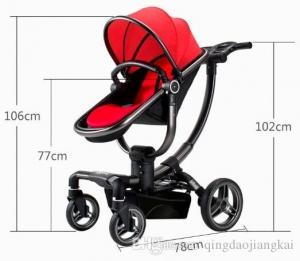 Carucior copii Transformabil 2 in 1 rotativ  360' Baby Care3