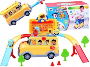 Masinuta 3 in 1 Funny Bus Parcare0