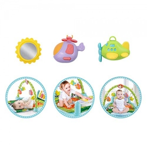 Saltea activitatii Baby Piano Gym cu telecomanda -Saltea bebe cu telecomanda1