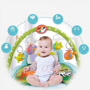 Saltea activitatii Baby Piano Gym cu telecomanda - Saltea bebe cu telecomanda5