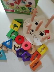 Joc Lemn Educativ Puzzle Pisicuta5 Coloane6