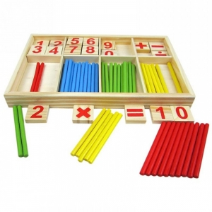 Jucarie Educationala Montessori Cuburi cu cifre Stick5