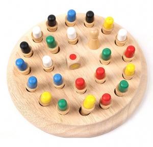 Joc din lemn Memorie CHESS -Joc din lemn cu Pioni1