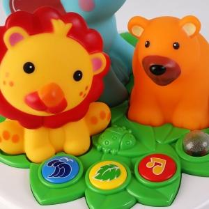 Lampa de veghe  copii Animale din jungla cu telecomanda4