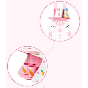 Mini Bucatarie de Lemn Pink Rabbit5
