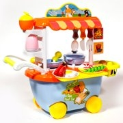 Set Mini Market Copii Troler2