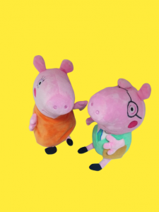 Set 4 jucarii de plus Purcelusa Peppa Pig [2]