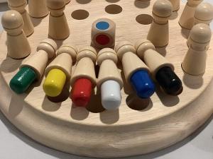 Joc din lemn Memorie CHESS -Joc din lemn cu Pioni2