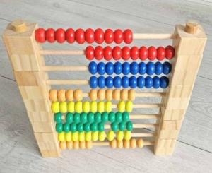 Abac Montessori din lemn multifunctional0