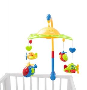 Carusel pentru copii plane fairyland cu proiector0